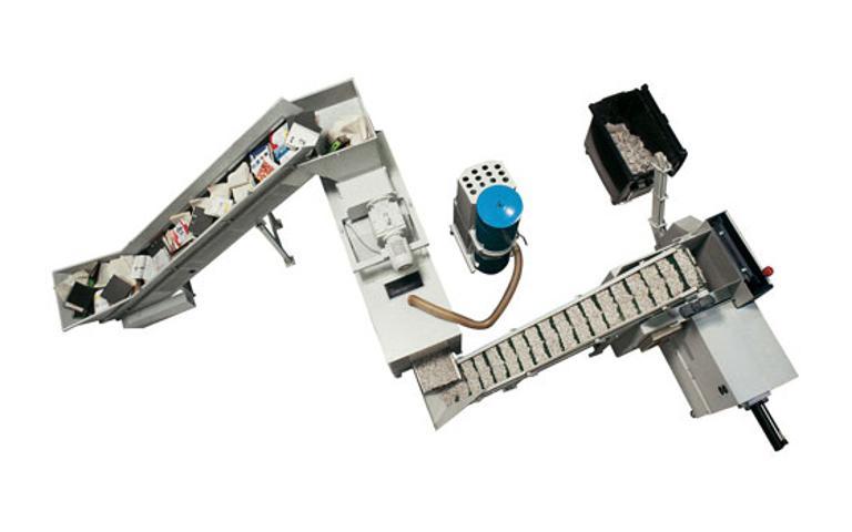 Heavy Duty - spesial VZ/VZM- Makuleringsmaskiner - Sentral høyvolum