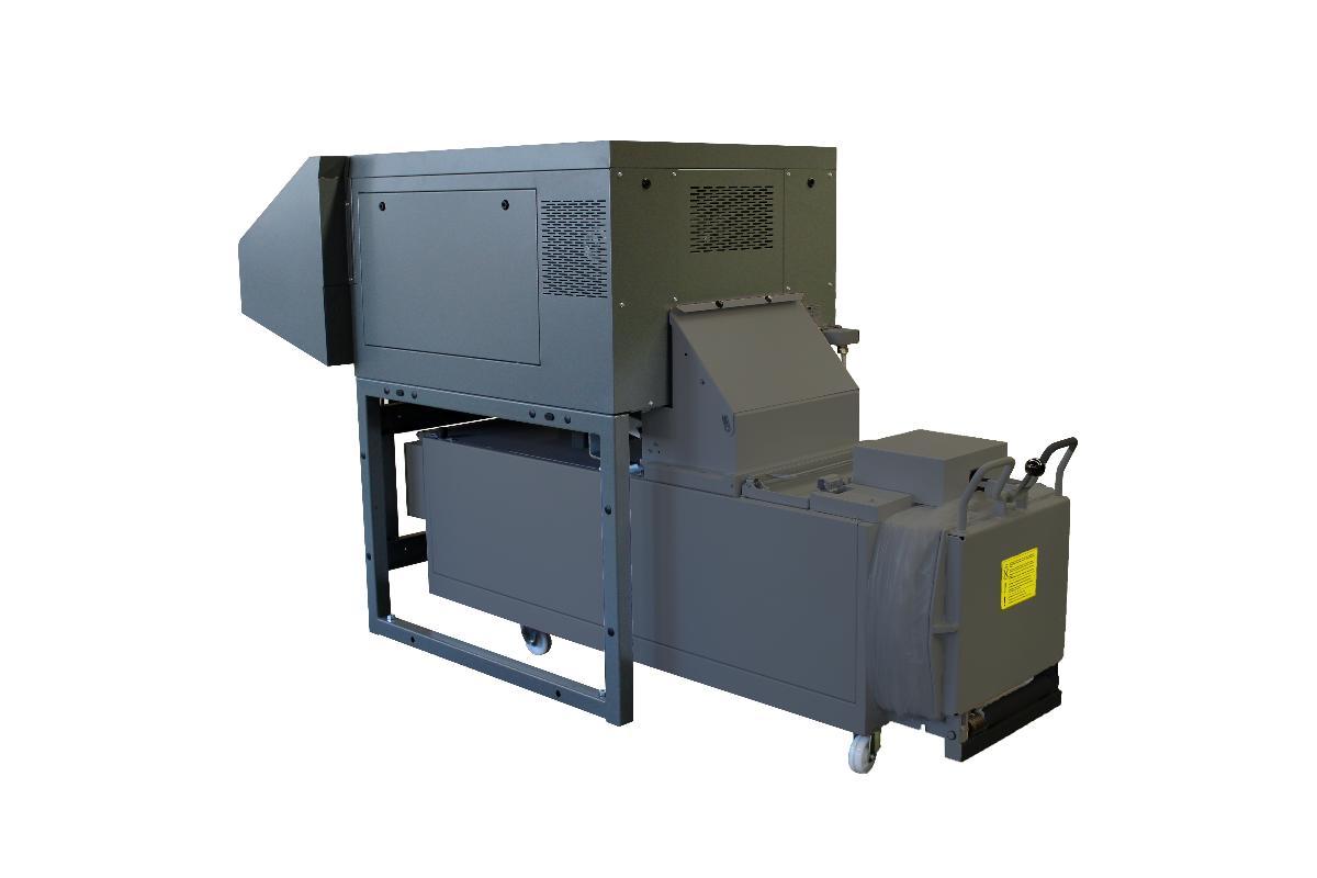 Intimus Power m/balepresse- Makuleringsmaskiner - Sentral høyvolum