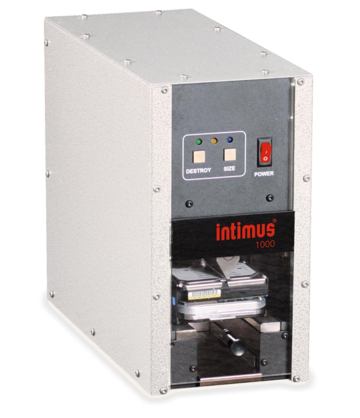 Intimus 240 HDD Crusher - Makuleringsmaskiner - Multimedia