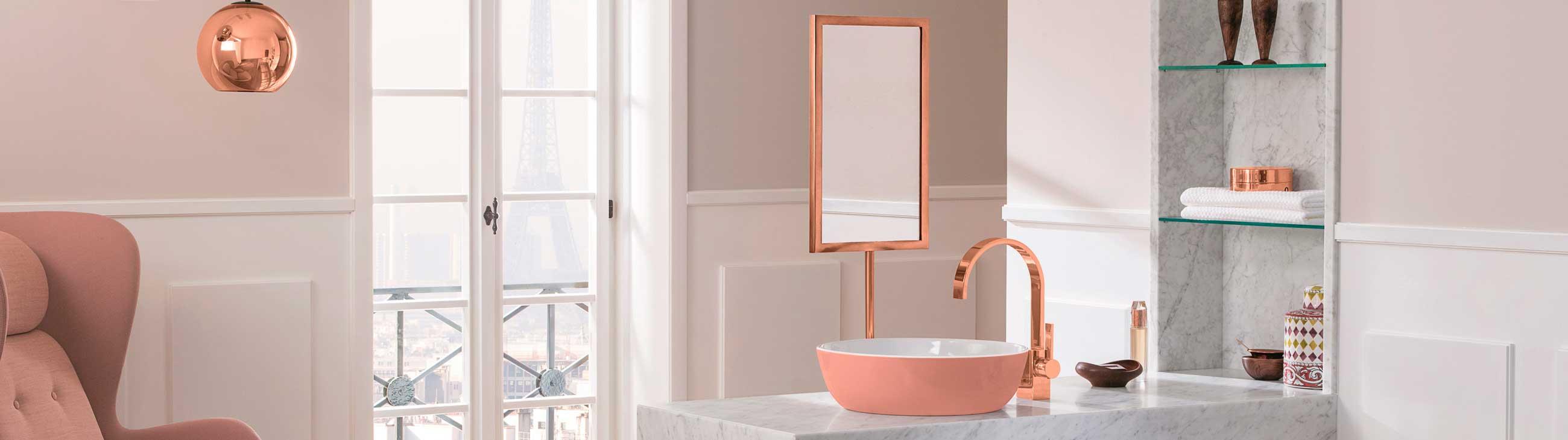 Inspirasjonsbilder av baderom med dusj og baderomsmøbler