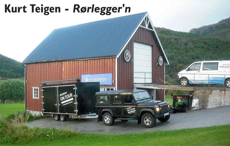 Bilde av lokalene til Kurt Teigen
