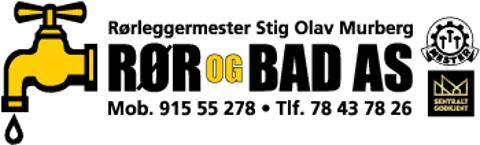 Rør og Bad AS Logo