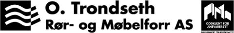 O. Trondseth Rør & Møbelforretning AS Logo