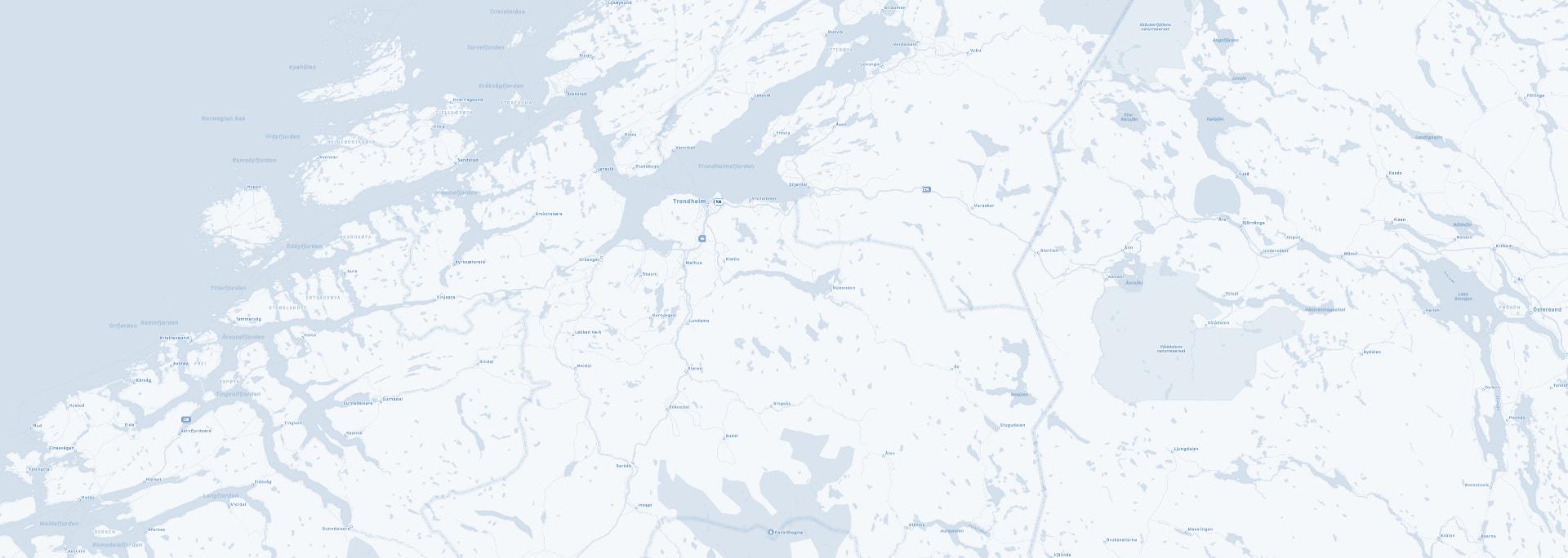 Orienteringskart som bakgrunn til klikkbart kart