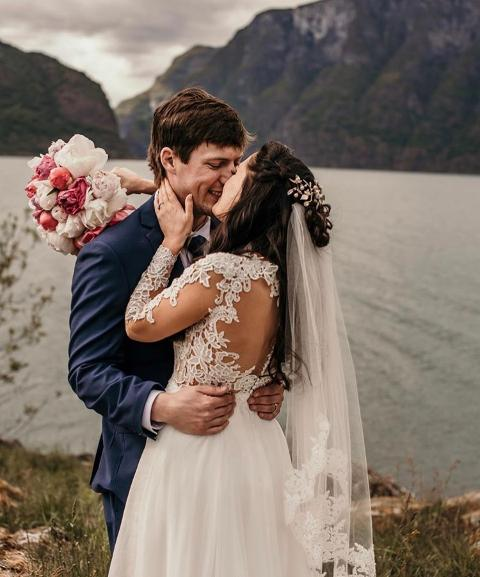 Fjord wedding in Norway
