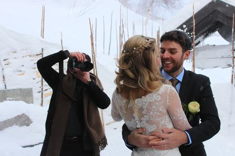 Winter wedding in Norway