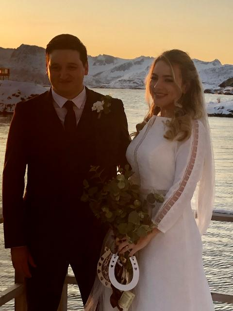 Wedding near Tromsø